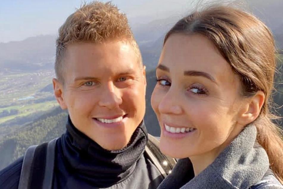 Anne-Kathrin Ertl (35) und Ex-HSV-Spieler Matthias Ostrzolek (30) sind seit sieben Jahren zusammen.