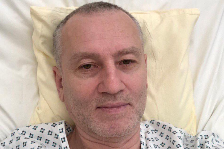 Vater Oleksandr Shytiuk (55) liegt in einem Krankenhaus in Stuttgart.
