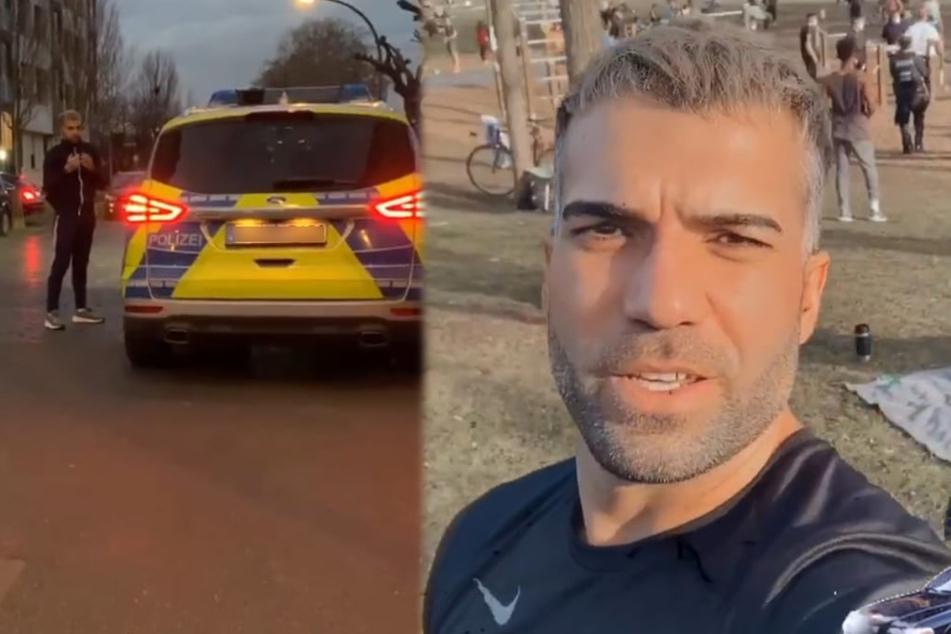 Rafi Rachek von Polizei angehalten, dann kommt der große Corona-Ärger