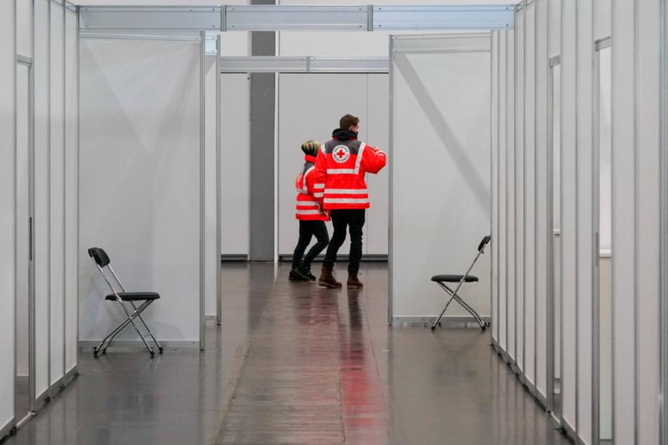 Leer: Sachsens Impfzentren arbeiten derzeit nur mit halber Kraft, weil der Impfstoff fehlt.