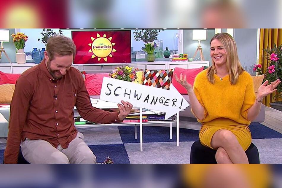 Baby-News bei Frühstücksfernsehen-Star: Alina Merkau wieder schwanger