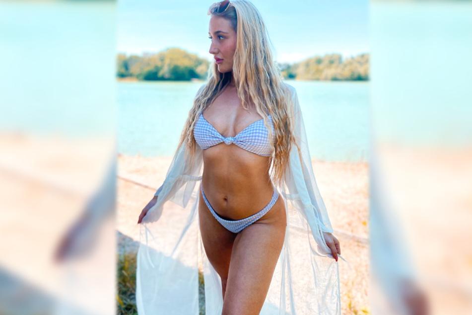 Fitness-Influencerin Tami Tilgner zeigt sich regelmäßig in sexy Posen auf Instagram.