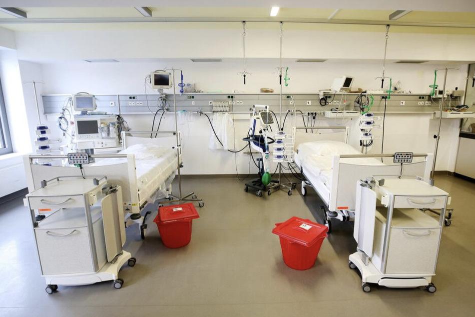 112 freie Intensivbetten gibt es noch in Sachsen.