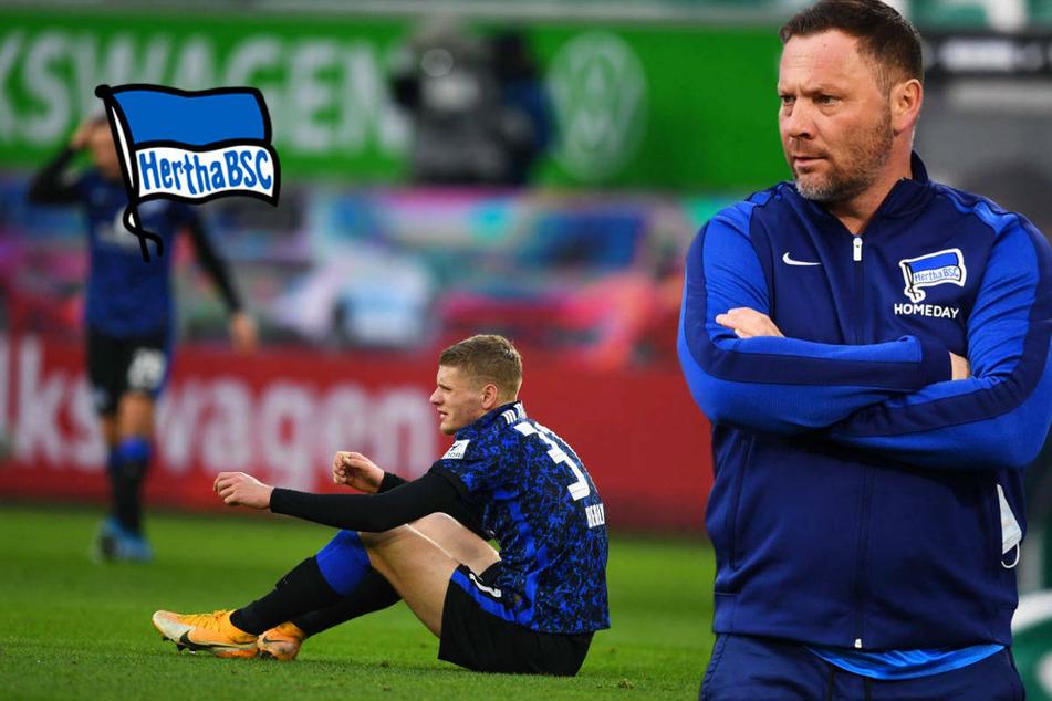 Hertha BSC schlägt sich selbst und verzweifelt an Wolfsburgs Keeper