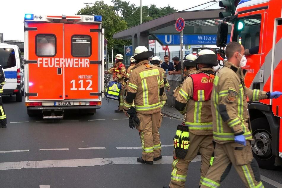 Ein Mädchen wurde am Donnerstagnachmittag am U-Bahnhof Wittenau von der U8 mitgeschleift.