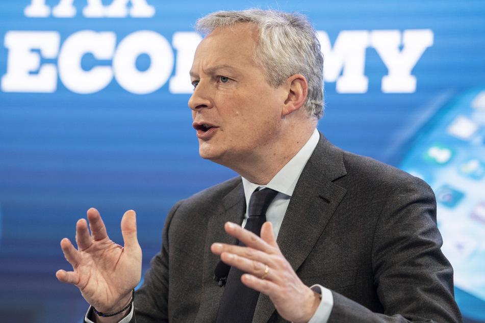 Bruno Le Maire, Wirtschafts- und Finanzminister von Frankreich.