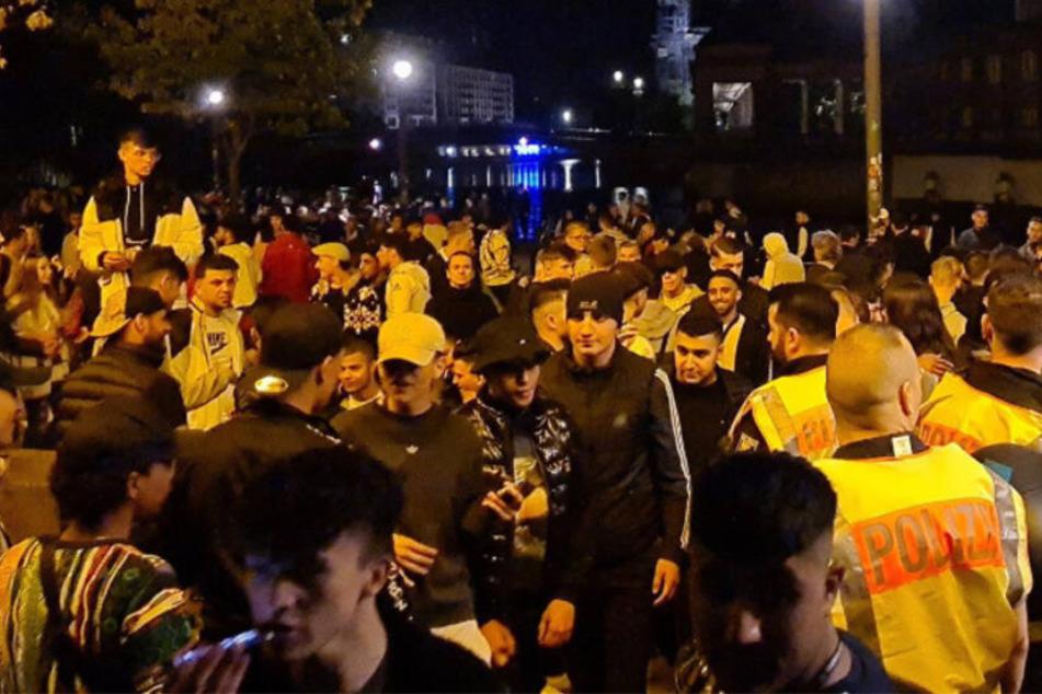 Polizei löst nächste Corona-Party in Berliner Park auf