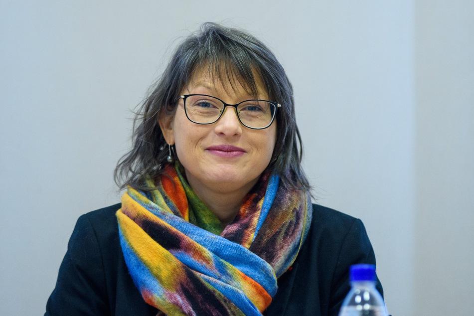 Katja Pähle (43), Vorsitzende der SPD-Fraktion im Landtag von Sachsen-Anhalt.