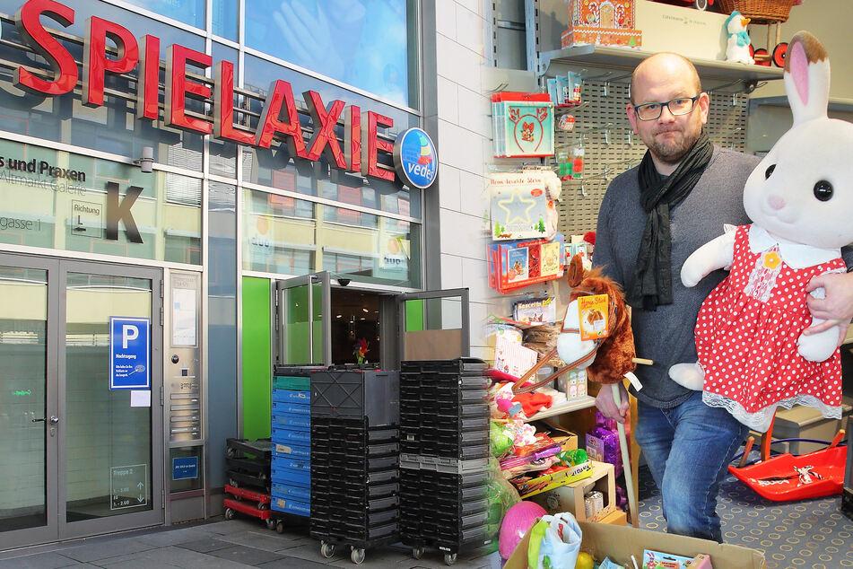 """Ausgespielt! """"Spielaxie"""" in der Altmarkt-Galerie muss schließen"""