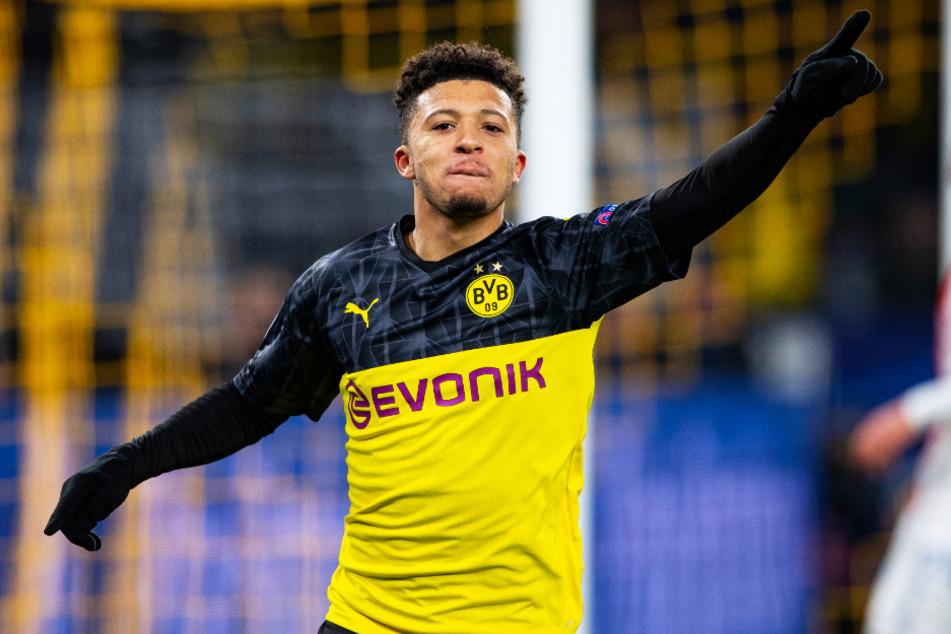 Jadon Sancho (20) sorgte in dieser Saison mit einigen Disziplinlosigkeiten außerhalb des Platzes einige Male für Missstimmung beim BVB.