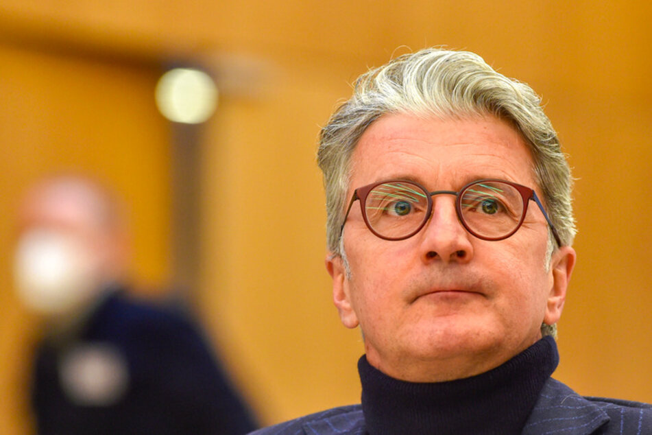 Rupert Stadler (57), ehemaliger Vorstandsvorsitzender der Audi AG, sitzt im Landgericht München.