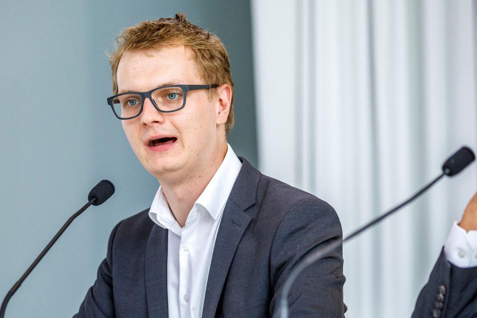 Grünen-Innenpolitiker Valentin Lippmann (30).
