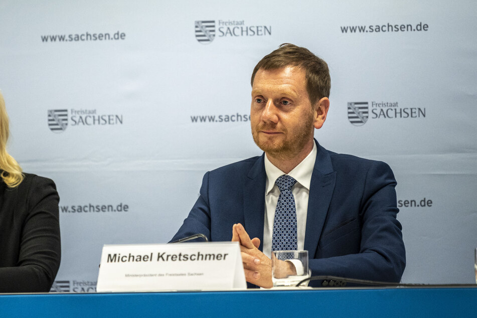 Ministerpräsident Michael Kretschmer (46, CDU) besuchte am Mittwoch die Stadt Chemnitz. Es ging um Millionen-Hilfen für den Kohleausstieg.