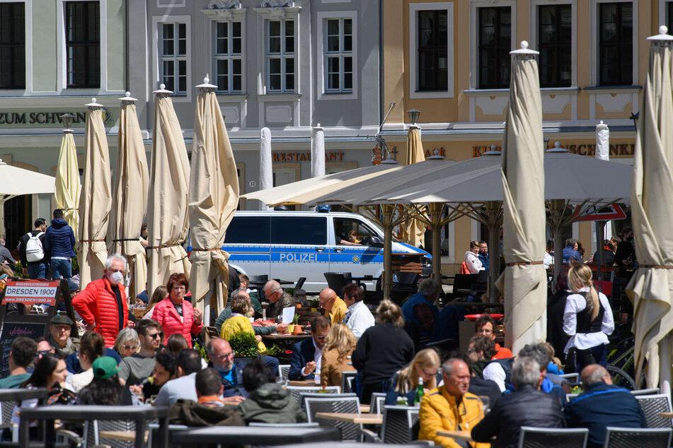 Die Außengastro hat in weiten Teilen Sachsens schon geöffnet. Nun sollen weitere Lockerungen hinzukommen.