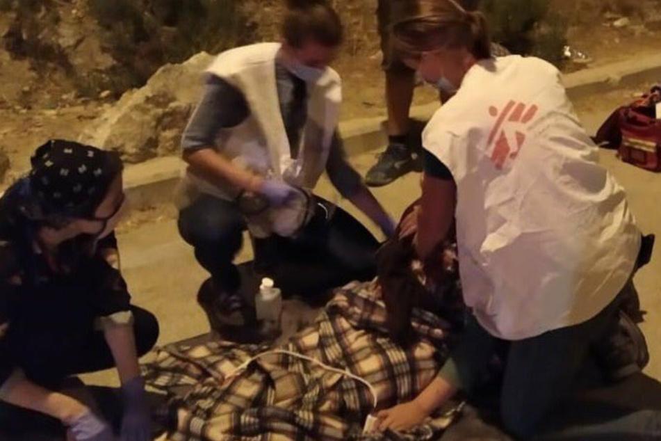 Nach Lesbos: Feuer im Flüchtlingslager auf Samos ausgebrochen