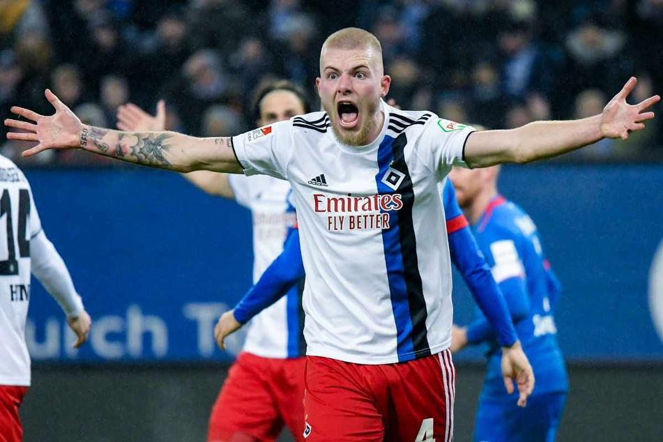 Rick van Drongelen könnte den Hamburger SV in diesem Sommer verlassen.