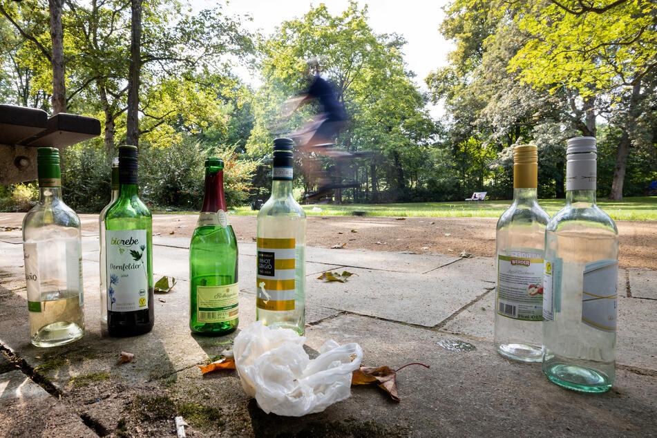 Wegen Corona: Müll-Flut in Thüringen, vor allem in Parks