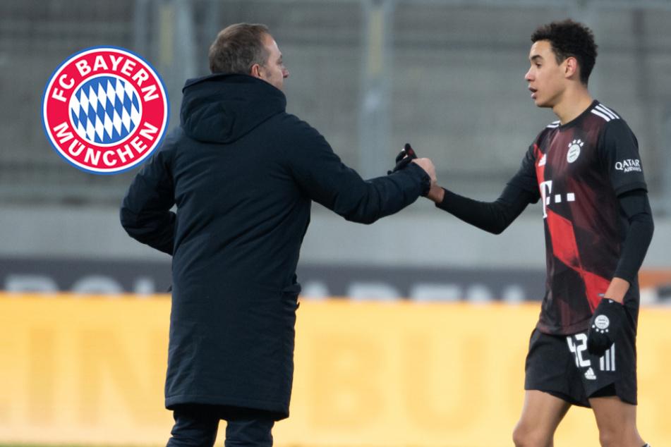 DFB-Einsatz von Jamal Musiala? Das sagt Bayern-Trainer Hansi Flick über den Super-Youngster