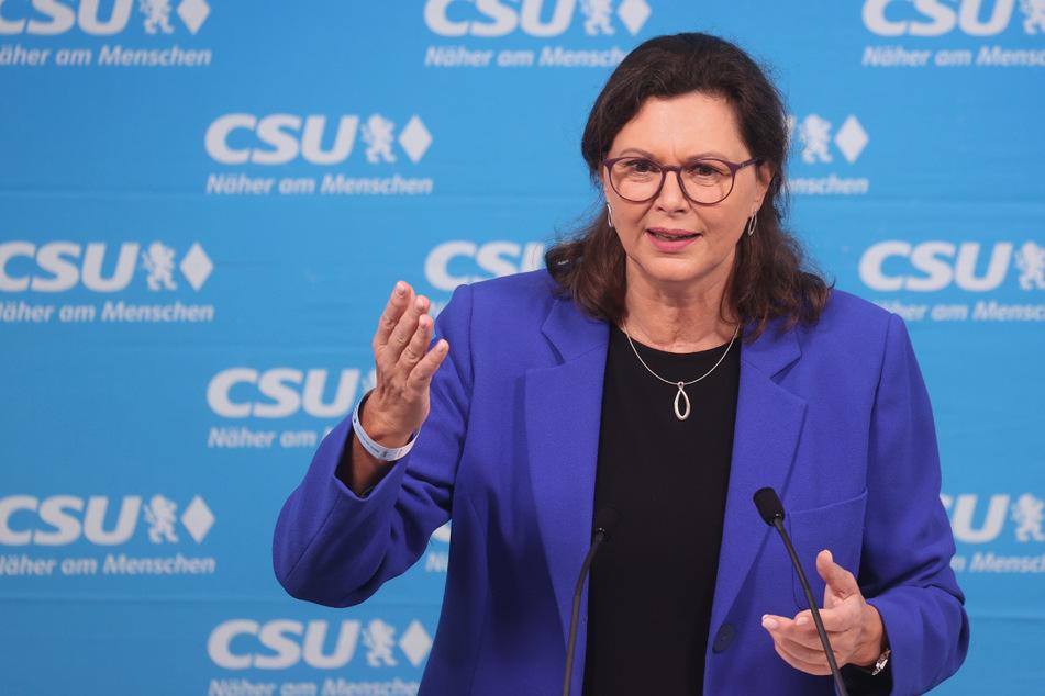 Ilse Aigner (56) ist die Präsidentin des bayerischen Landtags.