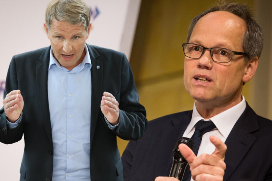 SWR-Intendant Gniffke gegen Auftrittsverbot für Höcke in Talkshows