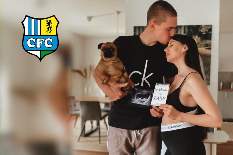 CFC-Profi Sören Reddemann und Freundin Maria erwarten ein Kind