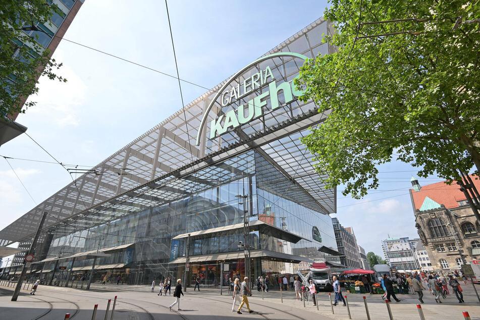 Von den Schließungsplänen bei Galeria Karstadt Kaufhof ist auch Chemnitz betroffen.