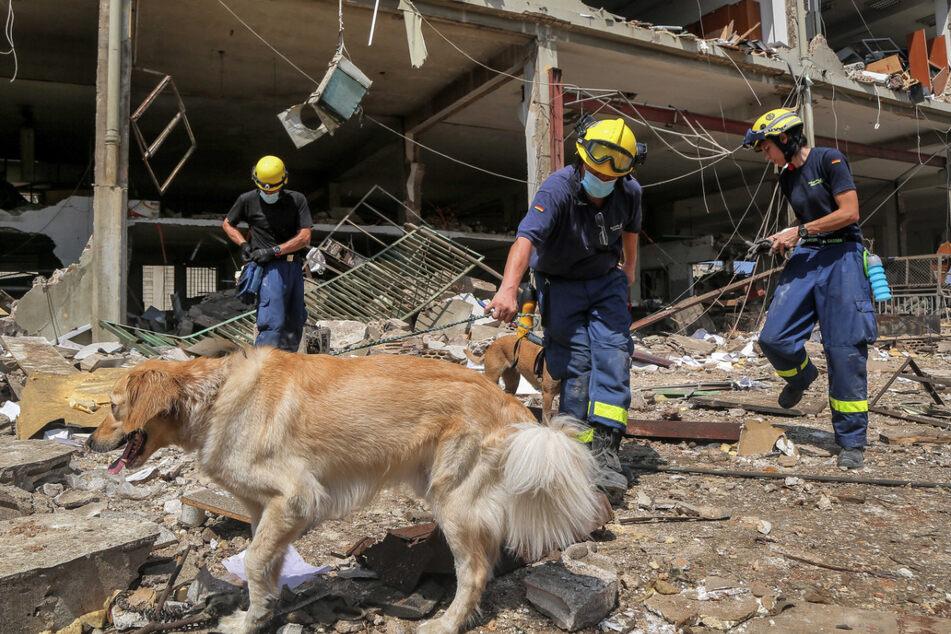 Beirut: Deutsche Helfer schockiert vom Ausmaß der Zerstörung
