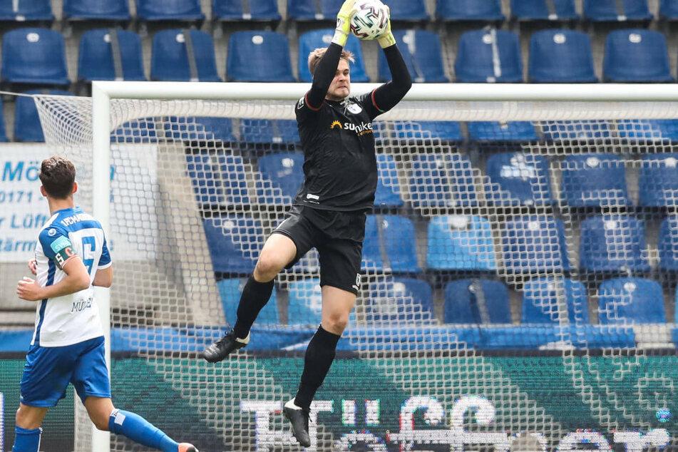 Zwei Jahre lang stand Morten Behrens zwischen den Pfosten des 1. FC Magdeburg in de 3. Liga.
