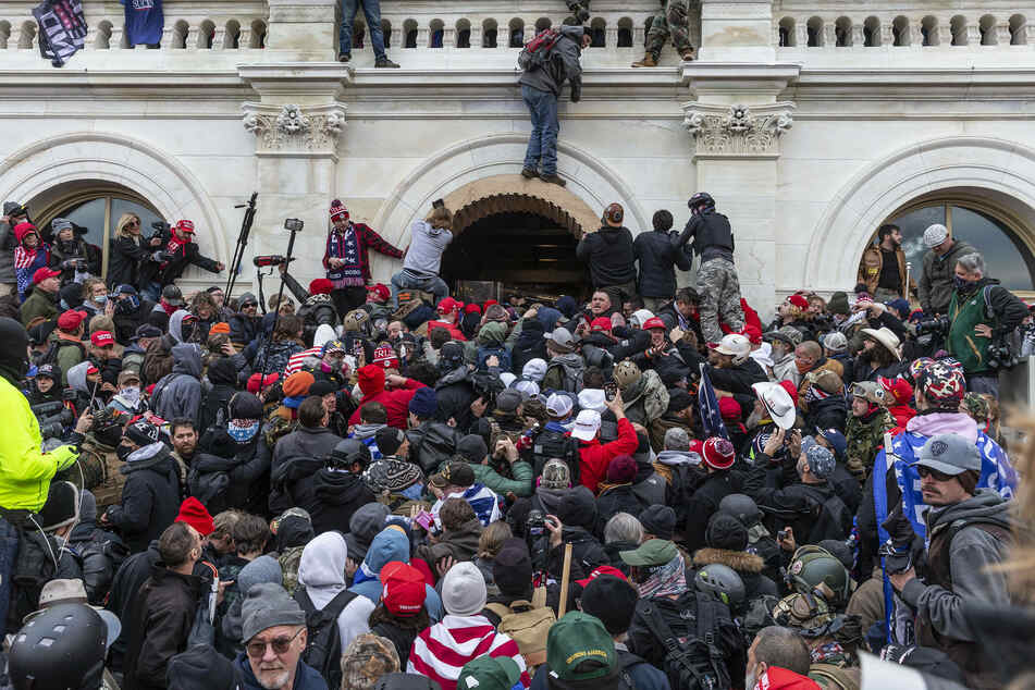 Pro-Trump rioters broke windows and breached the Capitol building in an attempt to overturn the results of the 2020 election.