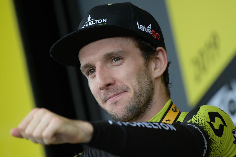 Der Brite Simon Yates vom Team Mitchelton wurde positiv auf das Coronavirus getestet.