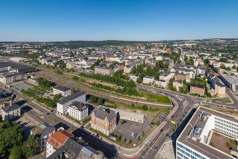 Blick über den Sonnenberg. Ein großes Gebiet des Stadtteils wäre von der Evakuierung betroffen.