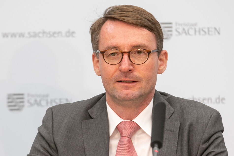 Sachsens Innenminister Prof. Dr. Roland Wöller informierte am Donnerstag über die aktuelle Kriminalitätsstatistik für Sachsen.