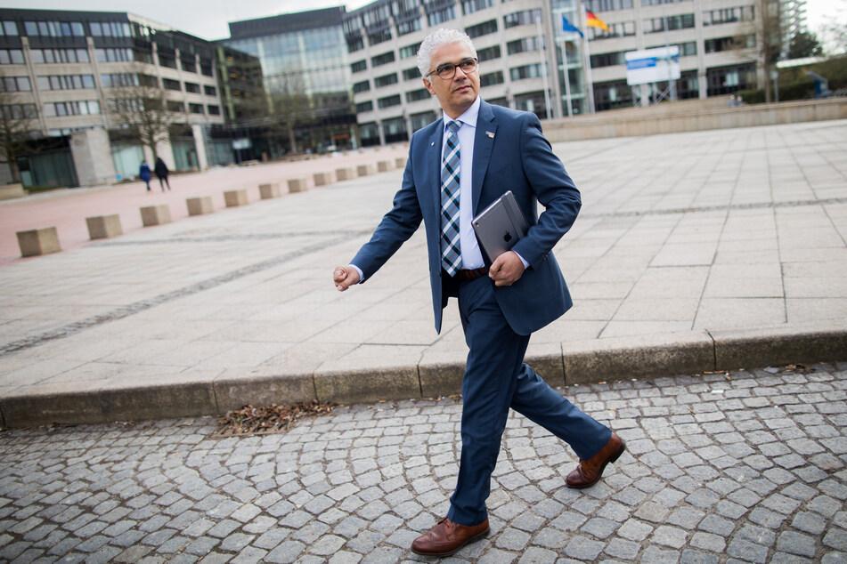 Bonns Oberbürgermeister Ashok-Alexander Sridharan muss in die Stichwahl.