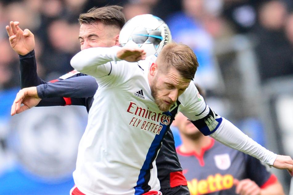 War die Partie gegen Jahn Regensburg das letzte Spiel von Kapitän Aaron Hunt im HSV-Dress?