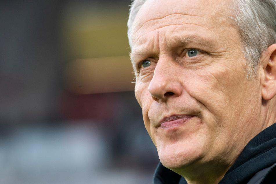 Äußert sich häufig zu gesellschaftlichen Themen: Freiburg-Trainer Christian Streich (55).