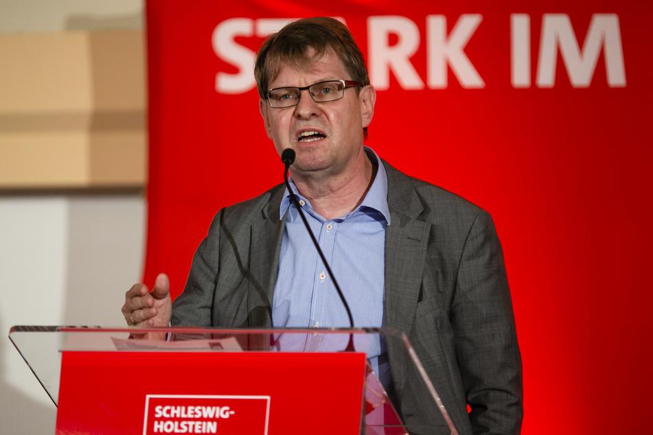 Ralf Stegner ist der SPD-Fraktionschef von Schleswig-Holstein.