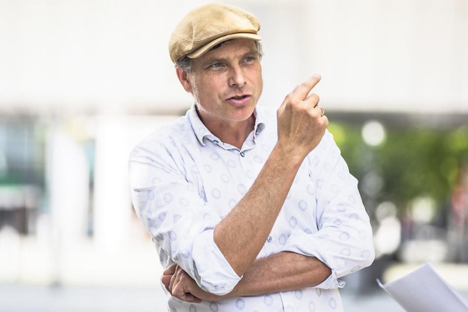 Stadtrat und Landtagsabgeordneter Thomas Löser (48, Grüne) kritisiert den Freistaat.