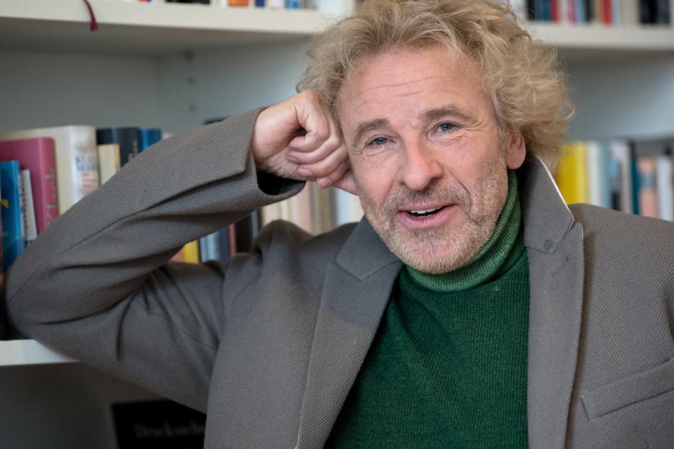 Übt als langjähriger Markenbotschafter heftige Kritik am geplanten Aus des Haribo-Werks in Wilkau-Haßlau: Thomas Gottschalk (70).