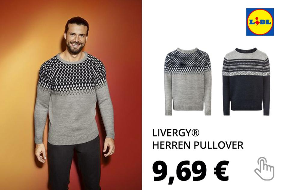 LIVERGY® Herren Pullover (nur online)