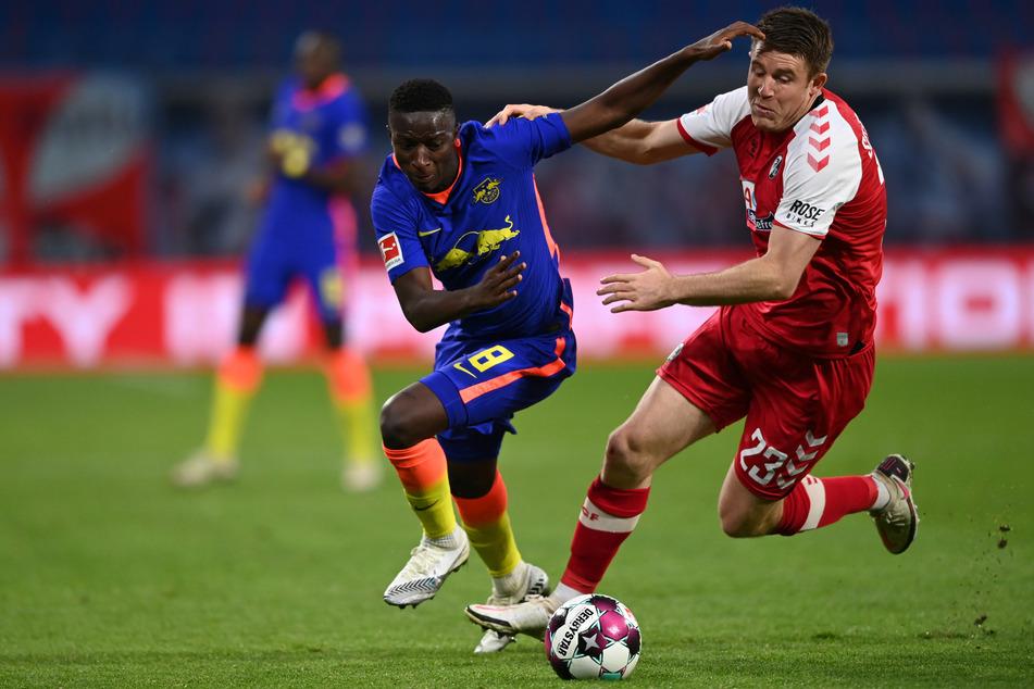 Das Hinrundenspiel in der Red Bull Arena konnten die Leipziger im November mit 3:0 für sich entscheiden.