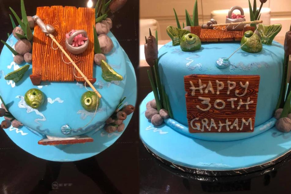 So sollte der Kuchen aussehen (Was er ganz am Ende auch tat).