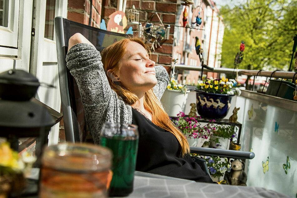 Durchatmen in der Sonne: Auch Pausen müssen im Home-Office sein.
