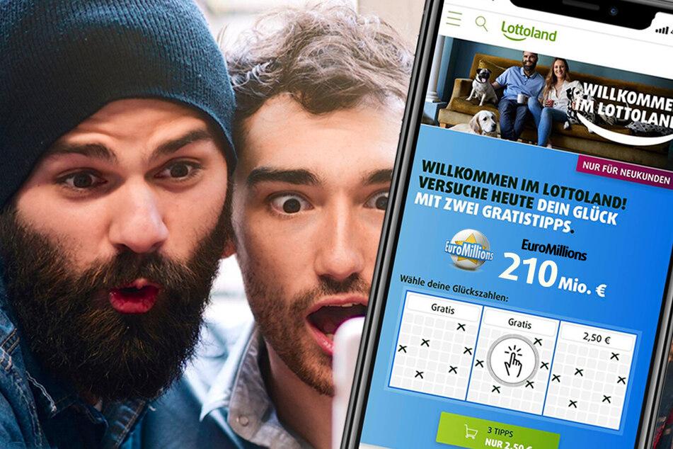 210 Mio. im Jackpot bei EuroMillions: So könnt Ihr gewinnen