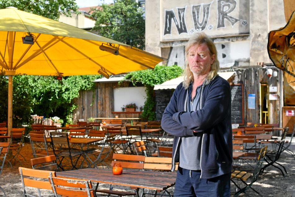 Tom Knappe (53) vom Louisengarten würde am liebsten schon am Wochenende öffnen. (Archivbild)