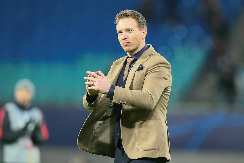 RB Leipzigs Trainer Julian Nagelsmann (32).