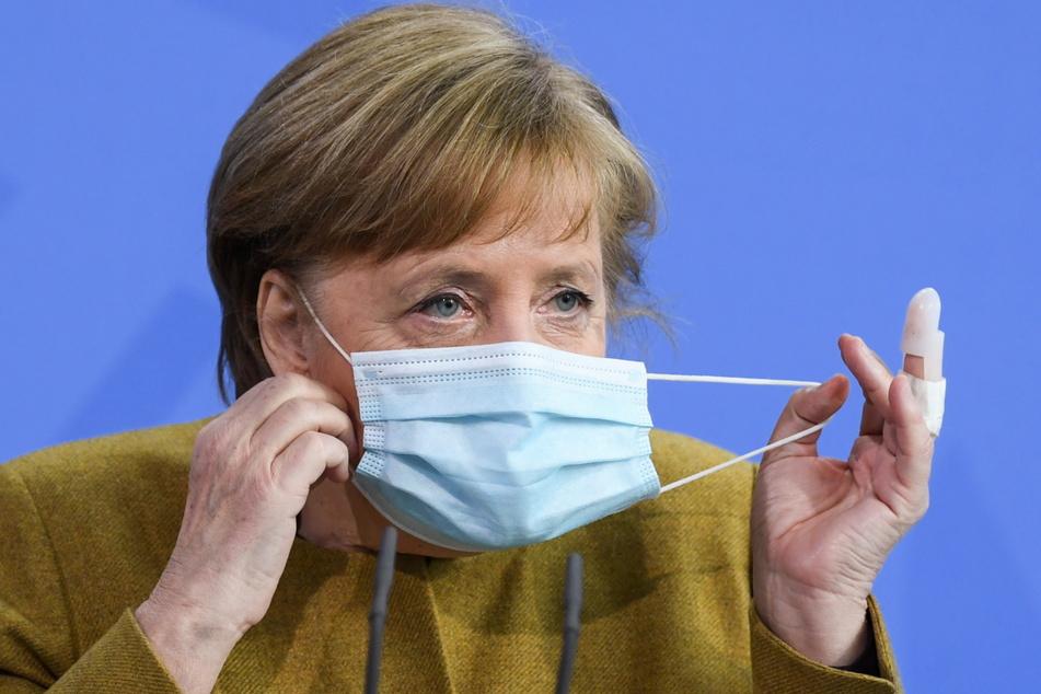 Coronavirus: Angela Merkel mit AstraZeneca geimpft