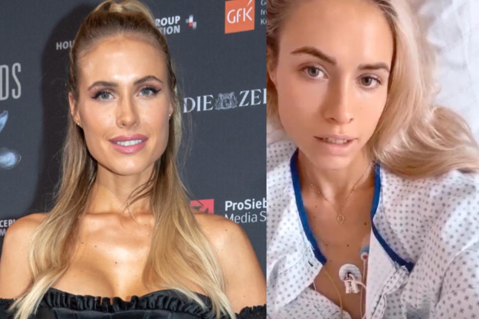 """Model Alena Gerber im Krankenhaus: """"Ich hätte sterben können"""""""