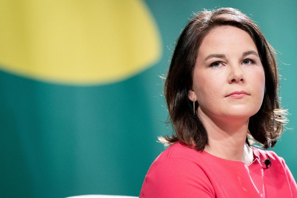Die grüne Kanzlerkandidatin Annalena Baerbock (40).