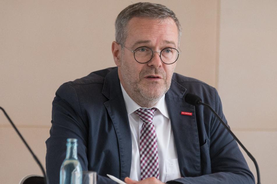 Jörg Dittrich, Präsident der Handwerkskammer Dresden.