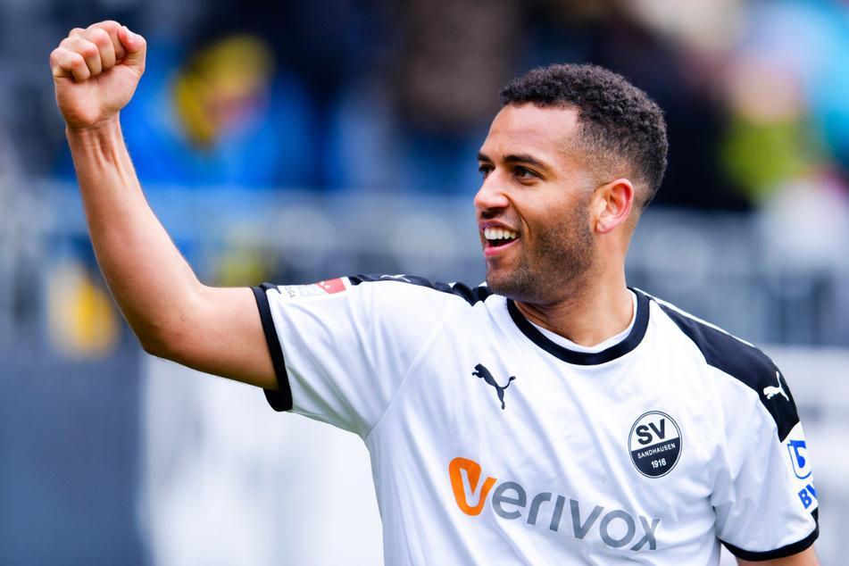 Andrew Wooten (31) hatte seine bisher beste Zeit beim SV Sandhausen, für den er in 157 Partien 50-mal traf und 13 Assists gab.